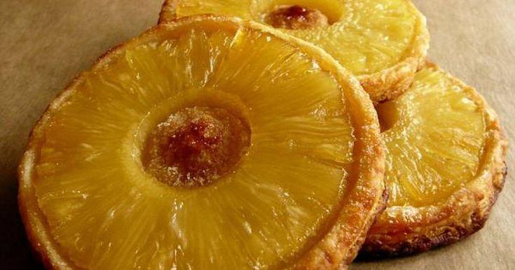 Классный рецепт - Французские пирожные с ананасами ...