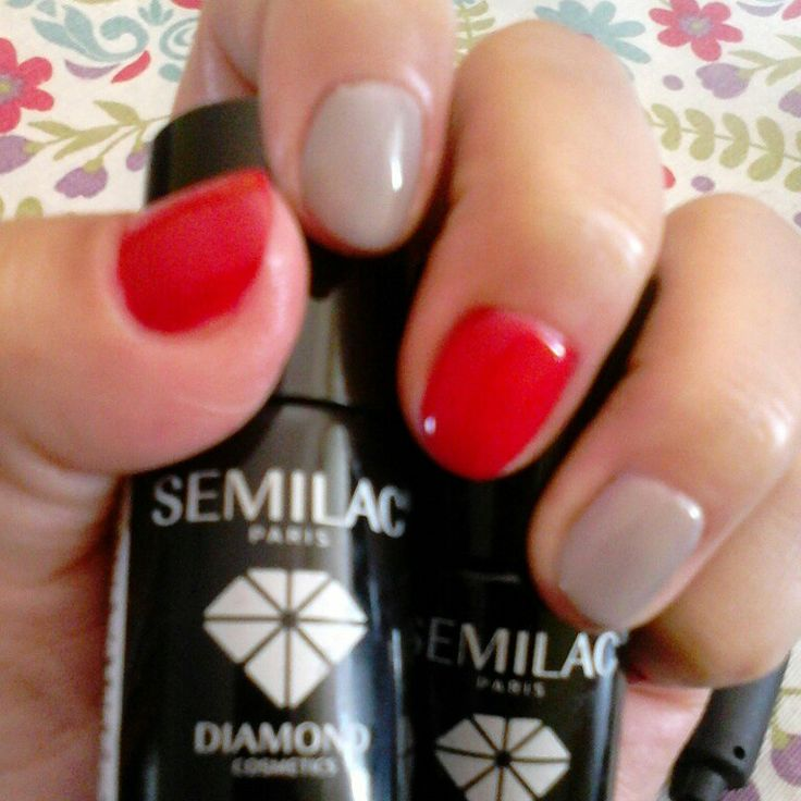 #manicure #nail #hybrydy #semilac