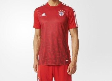 FC Bayern München 2016 adidad Pre-Match Kit