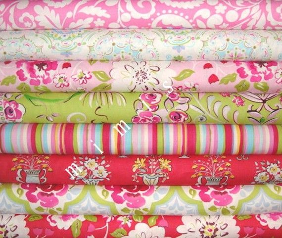 190 best fabric love images on pinterest angie lewin for Dena designs tea garden fabric