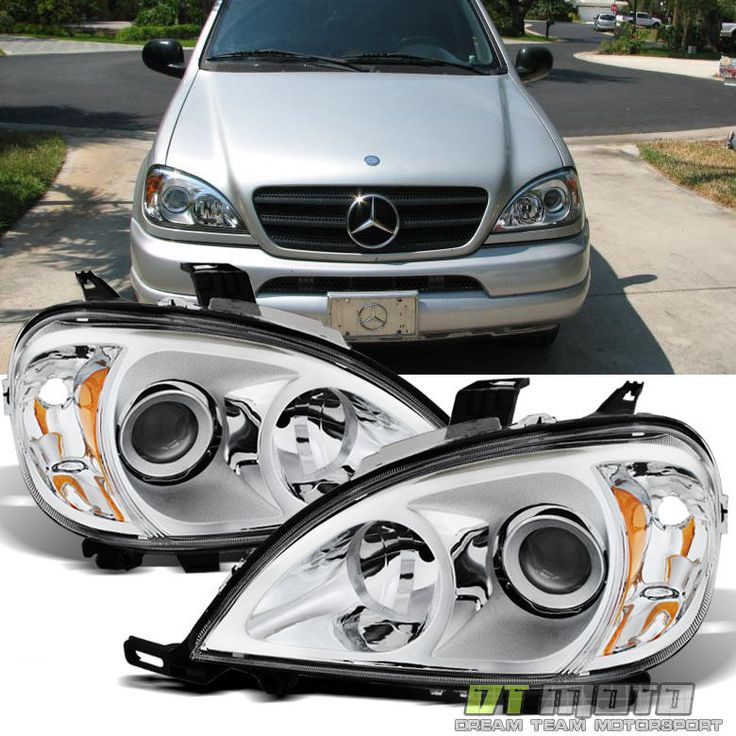 Cool Great 1998-2005 Mercedes-Benz W163 ML320 ML430 Halogen Headlights Headlamps Left+Right 2017 2018 Check more at http://24go.cf/2017/great-1998-2005-mercedes-benz-w163-ml320-ml430-halogen-headlights-headlamps-leftright-2017-2018/