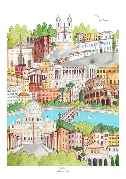 Rome di AriLand su DaWanda.com