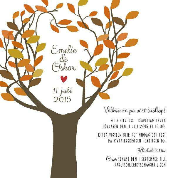 Love tree enkelt