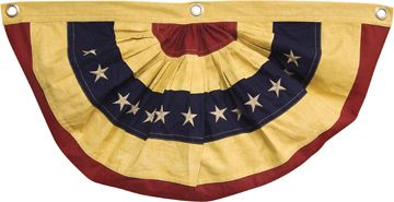 The Big Red Neck Trading Post - American Flag Bunting - Aged - Large, $34.25 (http://www.thebigrednecktradingpost.com/products/american-flag-bunting-aged-large.html)