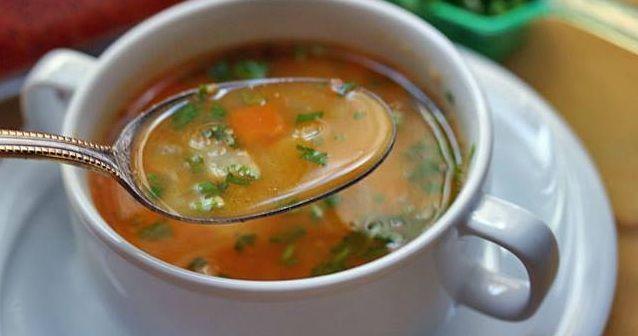 Этот суп — настоящее объедение;)) Турецкий суп султана Махмута