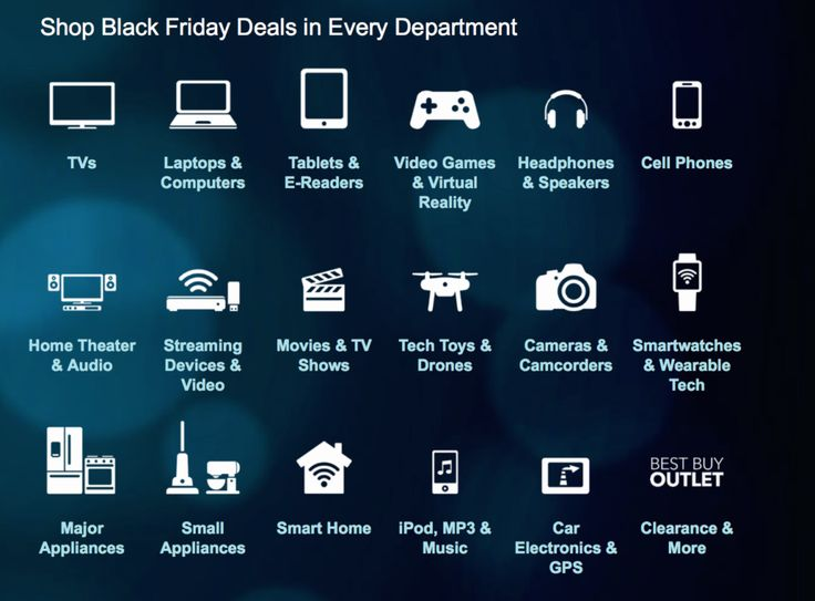 New Offers and Deals: Best Buy Black Friday DEALS are Here!  Best Buy Black Friday DEALS are Here!  Shop thousands of DEALS in all categories: electronics home appliances and much more.  Plus free 2-Day shipping on thousands of items for My Best Buy Elite Plus Members!  SHOP NOW  The post Best Buy Black Friday DEALS are Here! appeared first on EDEALO.  http://ift.tt/2fcXhnj