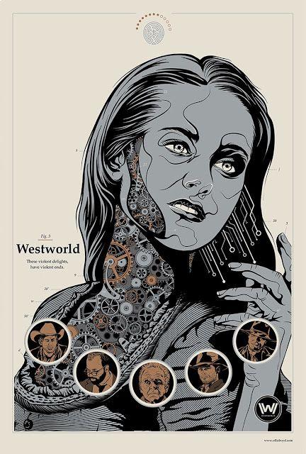 'Westworld' by Ollie Boyd