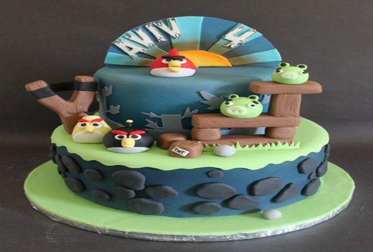 Birthday Cake Ideas for 7 Year Old Boys | Angry birds ...