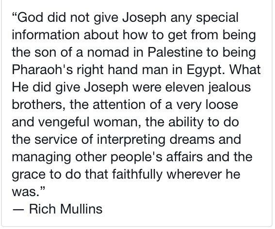 Rich Mullins - Joseph trusting