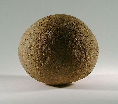 Ballista Ball Or Sling Stone Used As Weapon From The