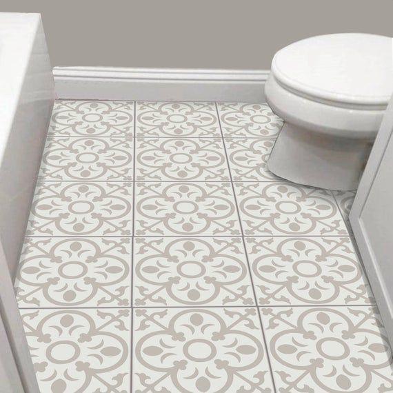 Tile Sticker Kitchen Bath Floor Wall Waterproof Removable Peel N Stick A62 Tile Stickers Kitchen Wall Waterproofing Flooring