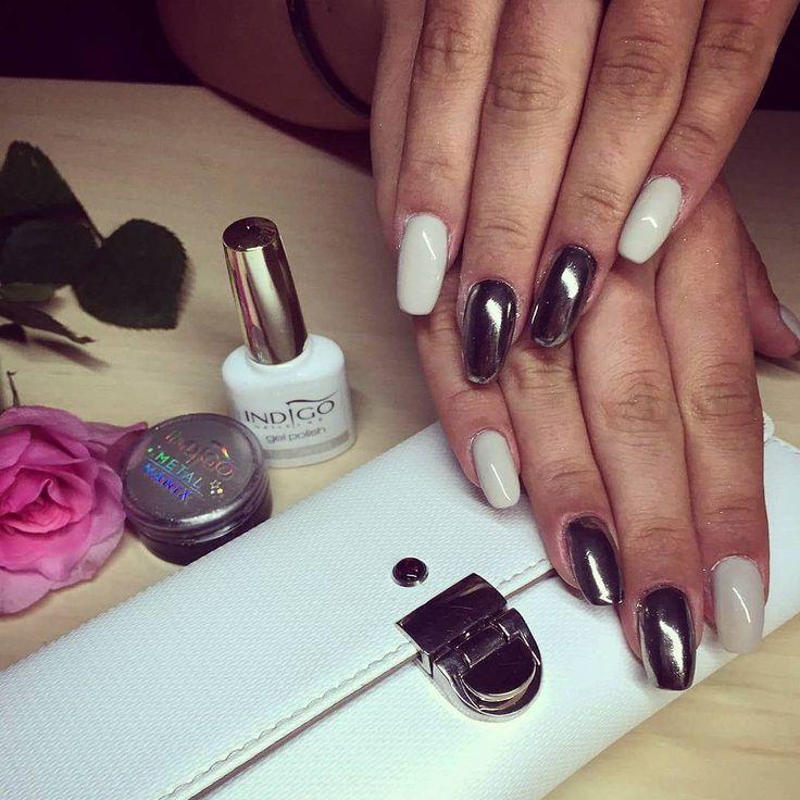 Manicure hybrydowy, paznokcie #piekniejszaty