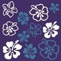 Hoge kwaliteit microvezel #brillendoekje bedrukt met mooie Hawaiiaanse bloemen. Gelieve #brillen niet schoon te maken met papierendoekjes, de houtvezels kunnen de glazen krassen.