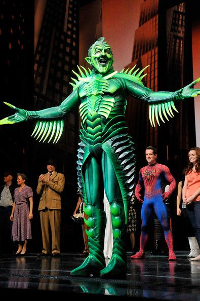 Spiderman Turn off the Dark: Patrick Page/Green Goblin/ BEST ACTOR EVER!!!!!!!!!!