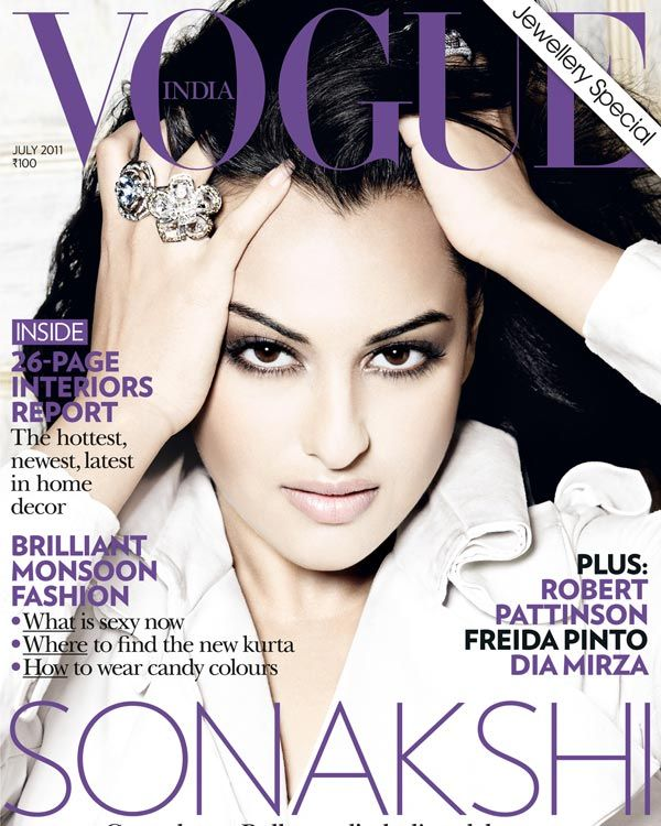 Sonakshi Sinha outdoes herself on the second Vogue cover stint!