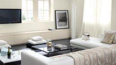 Van gepolijst en zacht tot donzig en geweven, textuur is het geheime wapen waarmee je diepte aan een witte kamer toevoegt.