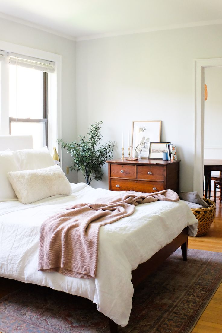 Our Jaws Dropped Over This Affordable Bedroom Makeover