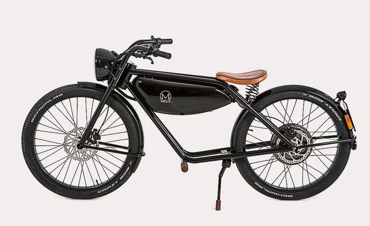 Meijs Motorman Retro Motorbike | Cool Material