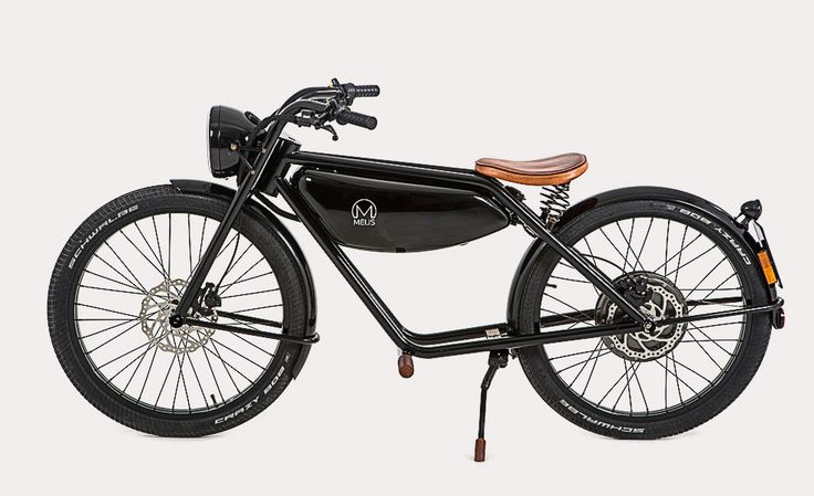 RONALD MEIJS # Electric Moped Motorman Retro Motorbike