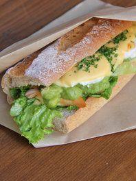 テイクアウトして食べる、お外サンドイッチが気分!