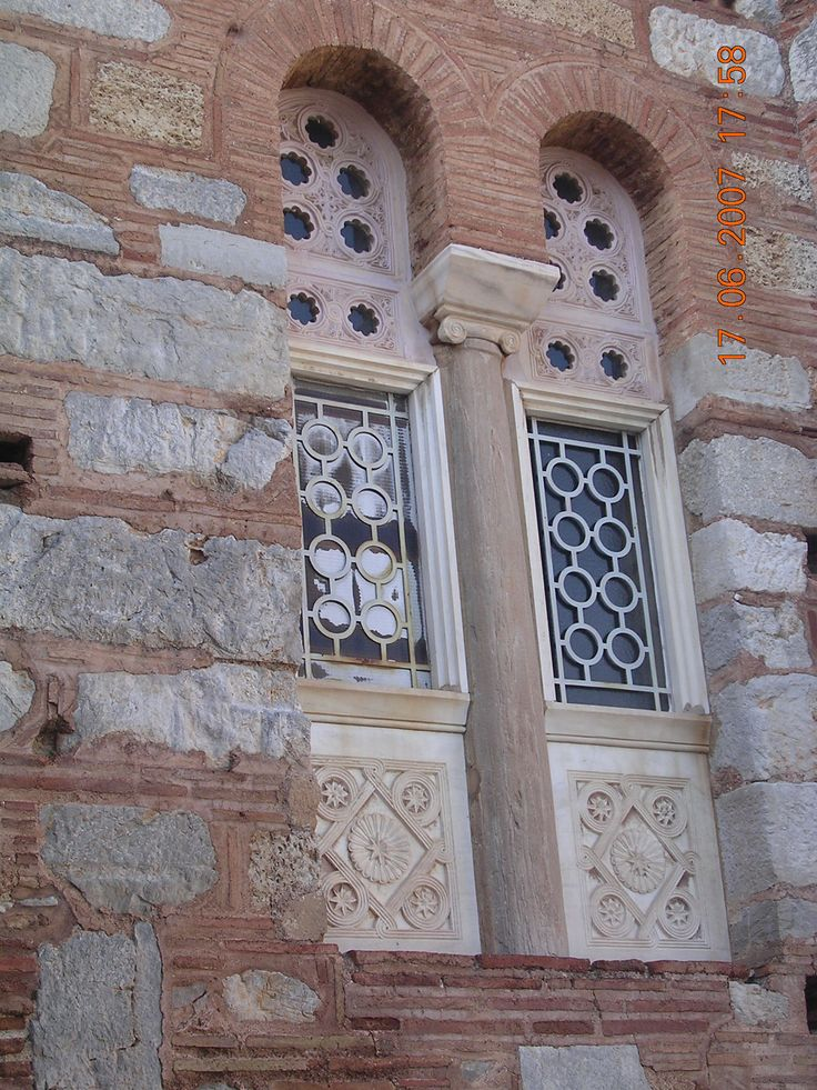 The windows from the church.