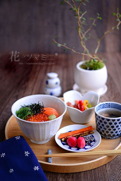 Ikura Donburi / 鮭いくら丼