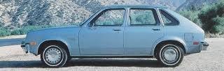 78 Chevy Chevette!  My First Car