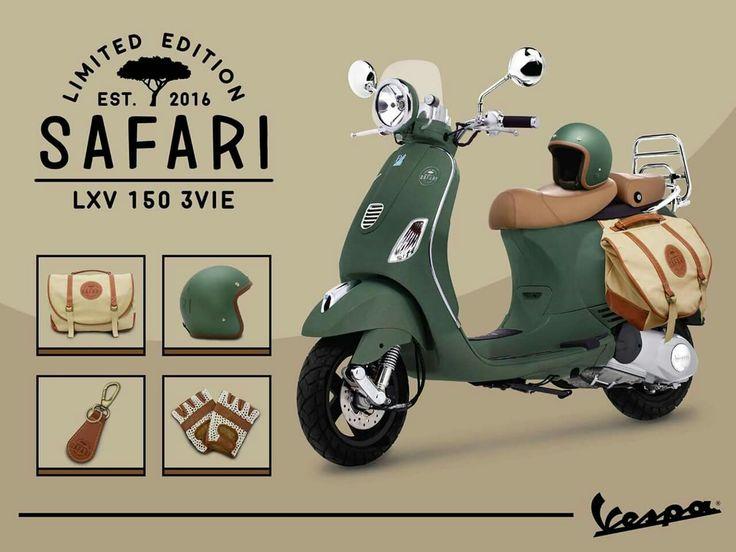 Vespa LXV 150 Safari