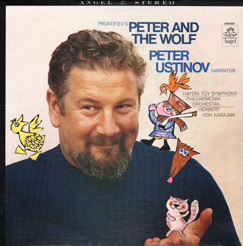 Peter and the Wolf: Peter Ustinov (Angel, 1960)