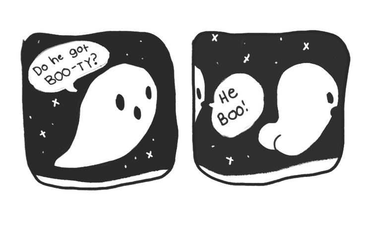 ghost puns are the BOO diggety