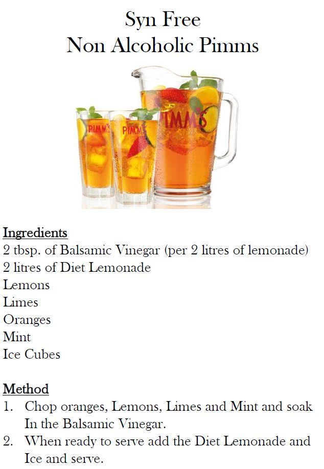 Syn Free Pimms