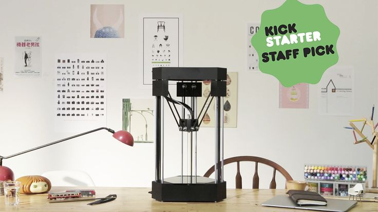 FLUX All-in-One 3D Printer - UNLIMITED. ELEGANT. SIMPLE. project video thumbnail