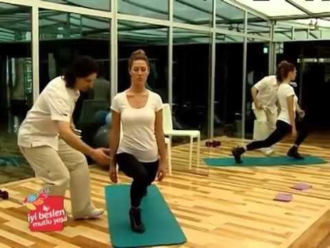 Sıkı ve Düzgün Selülitsiz Seksi Bacaklar İçin Egzersizler ~ Spor Sağlık Güzellik ~ - YouTube