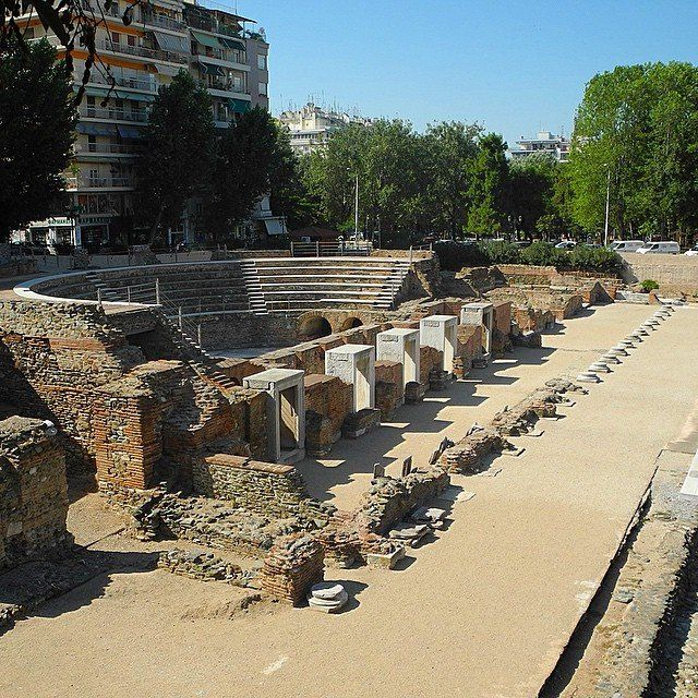 Roman Forum, Thessaloniki, Greece. - http://great-trips.com/roman-forum-thessaloniki-greece-8.html?utm_source=PN #Agora, #Cp, #Forum, #Greattrips, #Greciya, #Greece, #Greeceagora, #Romanforum, #Thessaloniki, #римскийфорум, #салоники