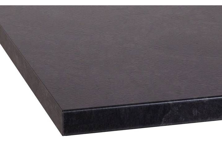 Optifit Arbeitsplatte Luzern 38 Mm Stark Schwarz Granit Schwarz Sheet Pan
