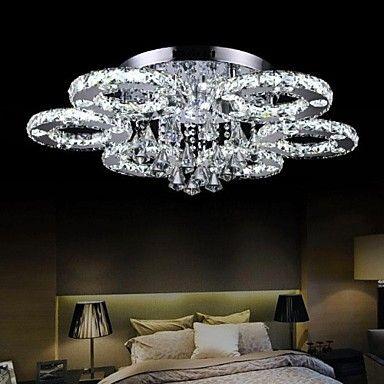 Mennyezeti lámpa - Kristály/LED - Modern/kortárs – EUR € 349.99
