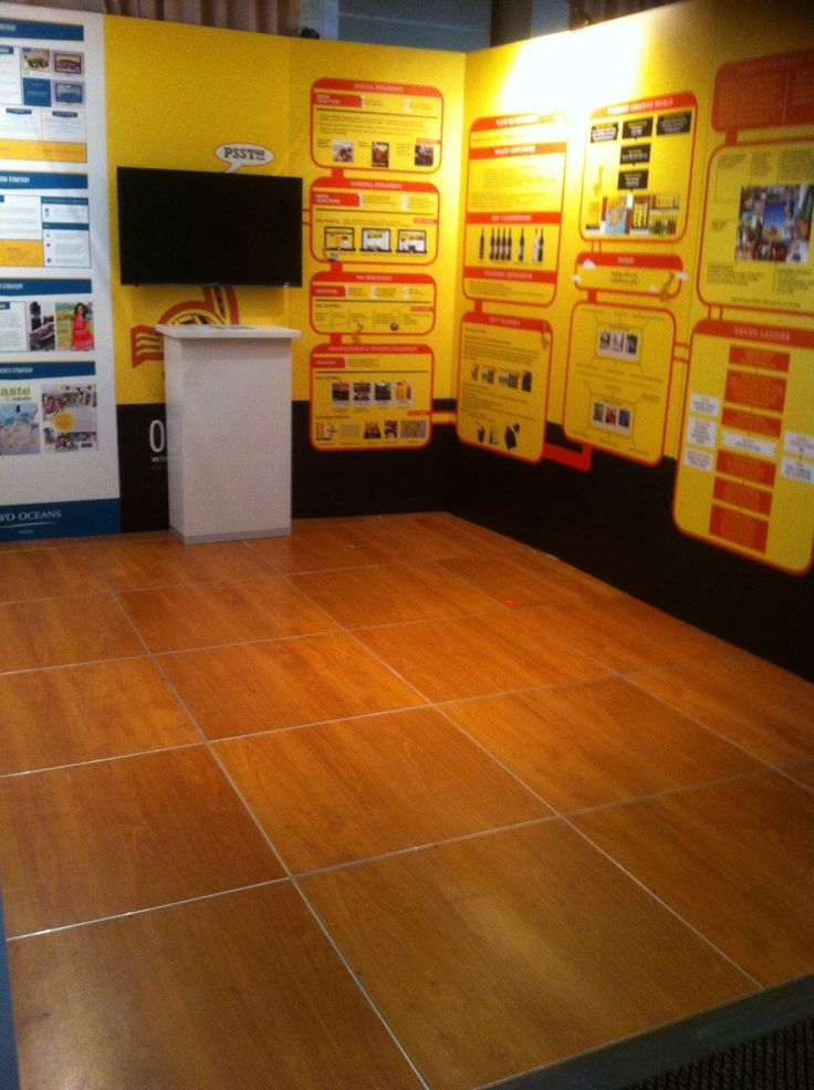 A Savannah laminate floor for a Distell event in Stellenbosch - for Resource Design in May 2015