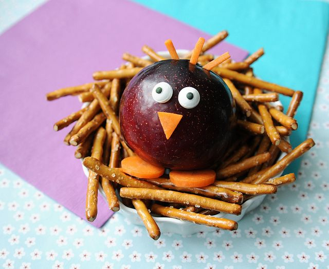 Cute Bird Nest Snack ~ great for spring