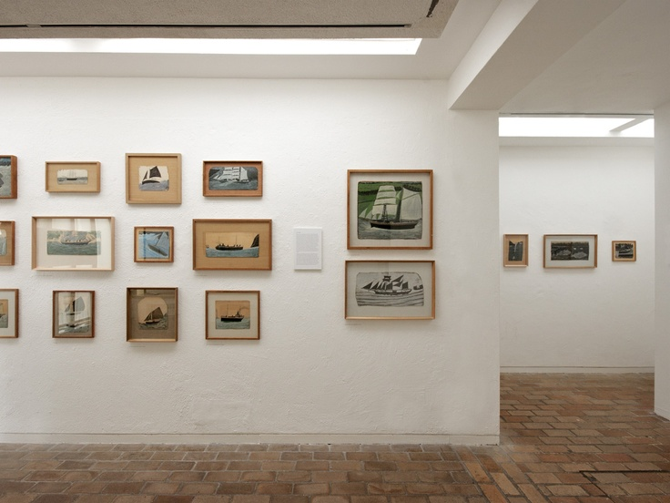 Alfred Wallis paintings from our reserve collection - over 100 at Kettle's Yard!