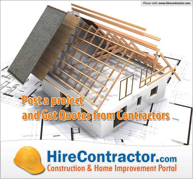 HireContractor.com is a one stop shop for searching contractors from your area. Post your home improvement project and let contractors reach you with quotes.