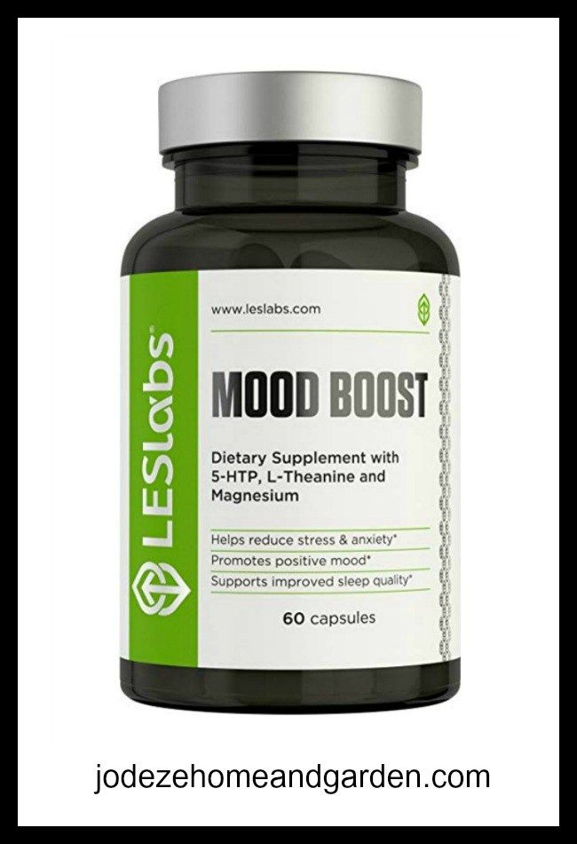 LES Labs Mood Boost Natural Supplement for Stress | SHOP