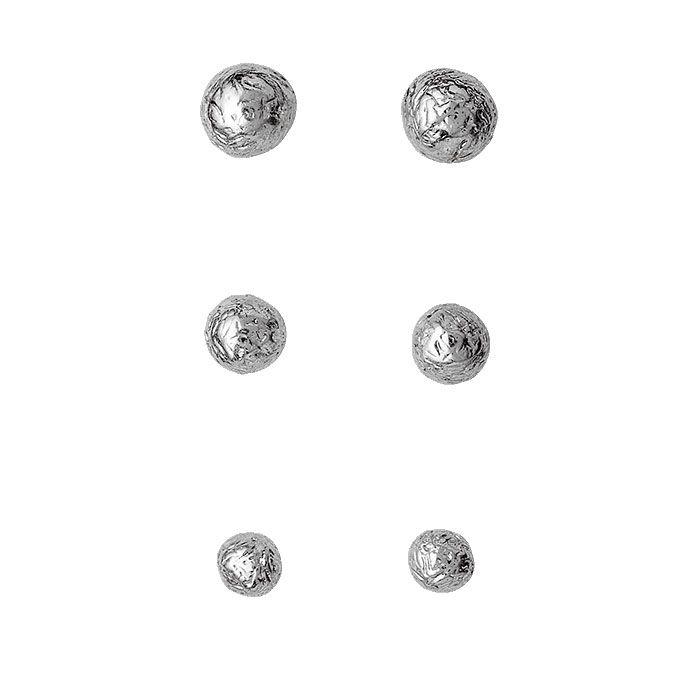 Pilgrim Trio of Silver Plated Stud Earrings Now £9.99 from Lizzielane.com http://www.lizzielane.com/product/pilgrim-silver-plated-stud-earrings-set-of-3/