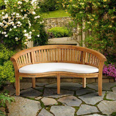 Pleasing Rosecliff Heights Cairo Outdoor Teak Garden Bench Products Machost Co Dining Chair Design Ideas Machostcouk