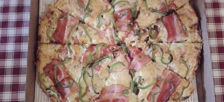What is this?? This is the most delicious pizza in Athens made from a traditional italian recipe. You can find it at Pizza Kolonaki in 1 Dimaki str. in Kolonaki,Athens. http://www.kolonakipizza.gr/layout/menu.pdf
