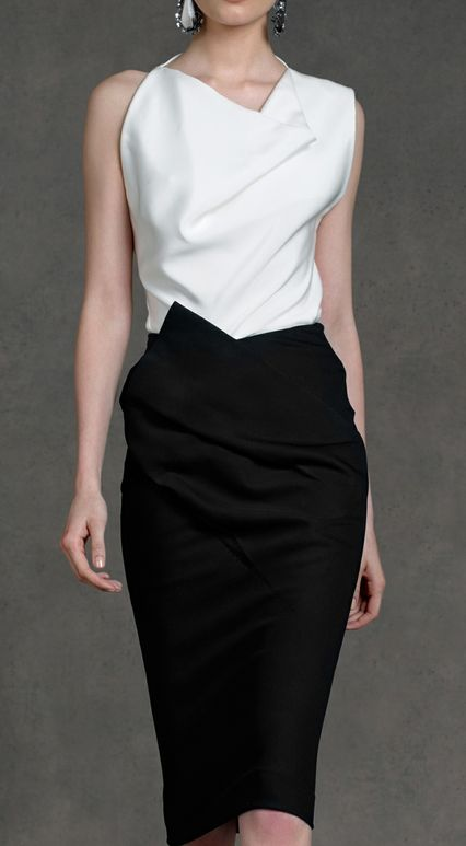 Gorgeous cut and draping. Donna Karan - Resort 2013. #work wear. #summer. via thedailystyle.