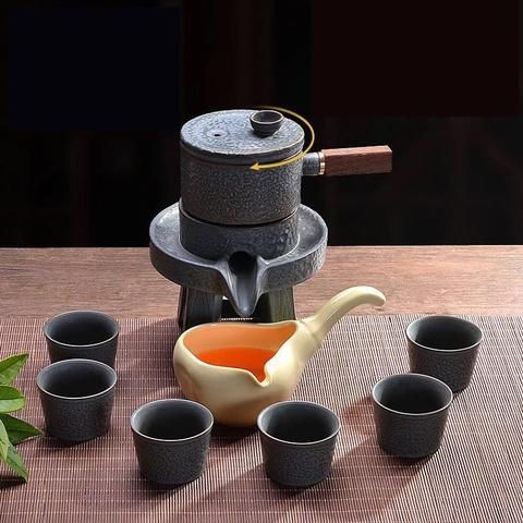 Tang Feng Ceramic Stone Kung Fu Tea Set