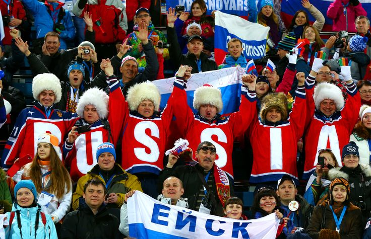 Российские болельщики на Олимпиаде 2014 в Сочи