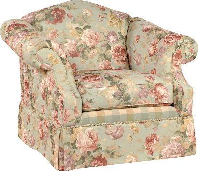 Floral Print Living Room Furniture
