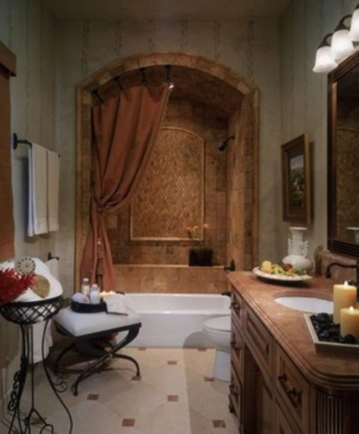 25 Best Images About Tuscan Bathroom On Pinterest