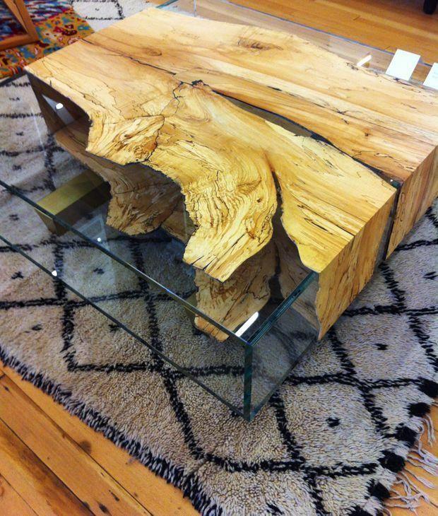 Własnoręcznie robione, drewniane meble w nowoczesnym stylu [GALERIA INSPIRACJI]